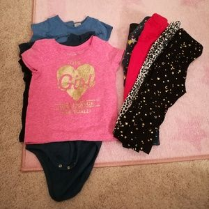 Matching Sets - 9 Piece Size 18 Months Bundle